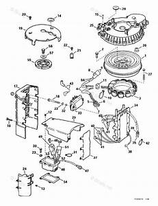 Johnson Outboard Parts By Hp 150hp Oem Parts Diagram For Ignition System