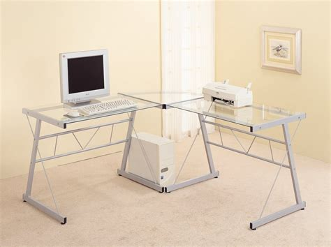 Coaster Contemporary Computer Desk by 5 Best Computer Desk With Keyboard Tray More Organized
