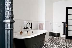carrelage design a linspiration geometrique pour la salle With salle de bain ultra moderne
