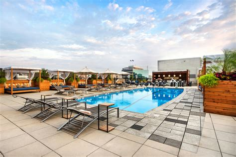 Pool Auf Dachterrasse by Washington Dc Hotels With Rooftop Pools The Liaison