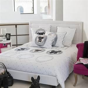 Housse De Couette Ado : housse de couette ado tendance imprim s portraits de chiens ~ Teatrodelosmanantiales.com Idées de Décoration