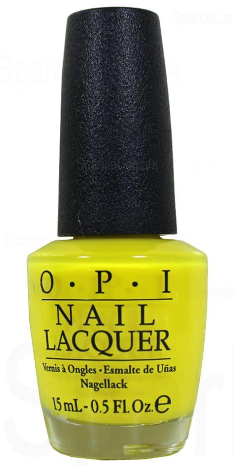 opi  faux yellow  opi nlbb sparkle canada