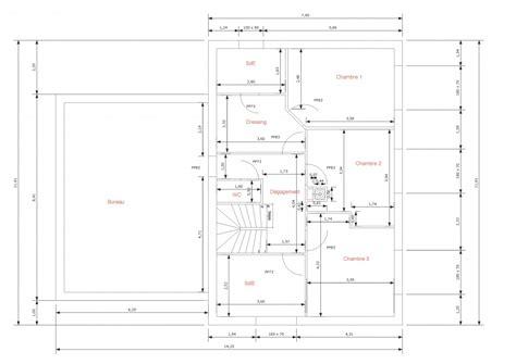 hauteur placard cuisine besoin de votre avis sur plans de maison r 1 175m2 16
