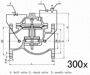 Ductile Iron Ggg50 Slow Shut Off Check Valve For Pump