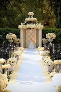 Wedding, Aisle, Decoration, Ideas