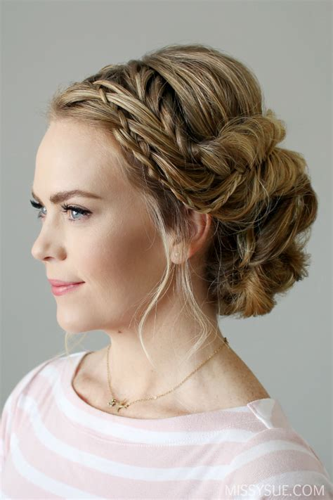 Braid Embellished Updo