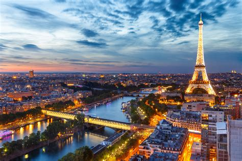 Paris at sunset [2048x1365] CityPorn
