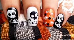 Cute halloween nail design designs art