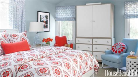 Red And Light Blue Bedrooms-making It Lovely