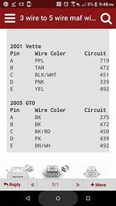 2004 Gto Maf Questions - Ls1tech