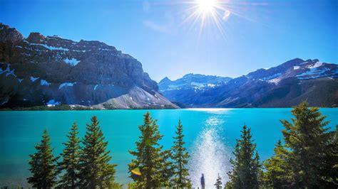 Tranquil Lake Landscape Nature Beauty Peacefull Sun
