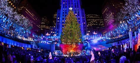 when is the christmas tree lighting nyc winspire experience rockefeller center tree lighting