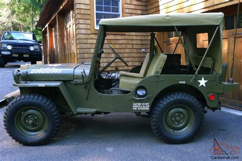 willys army jeep 1951 willys m38 military jeep fully restored