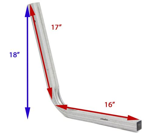Boat Trailer Uprights by Compare Replacement Upright Vs Replacement Upright
