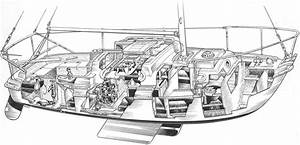 Sailboat Cutaway Diagram
