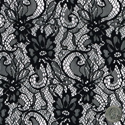 sheer lace curtain a wish black floral lace fabric by the yard table runner