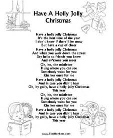 Holly Jolly Christmas Song Lyrics
