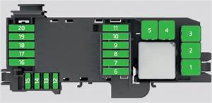 Skoda Fabia  2016   U2013 Fuse Box Diagram