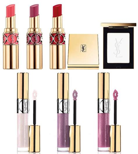 ysl fall  rock edgy  young makeup collection