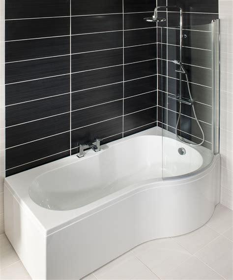 What Is A Shower Bath by Tempest P Shape Shower Bath Rh 1700 Includes Glass Shower