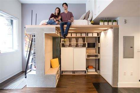 rolling whiteboard space saving apartment design