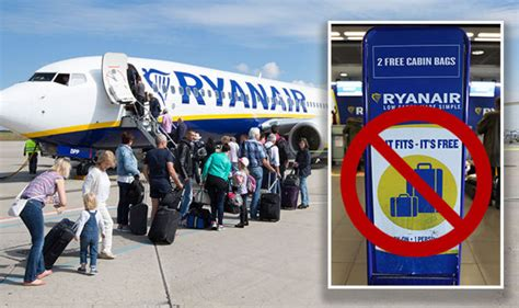 ryanair hand luggage airline scraps  bag allowance