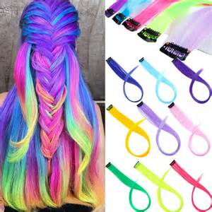 Alileader 87 Colored Long Straight Ombre Synthetic Hair