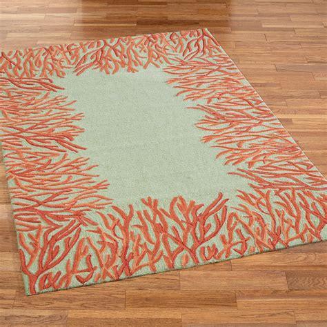 indoor outdoor rug orange coral reef indoor outdoor area rugs