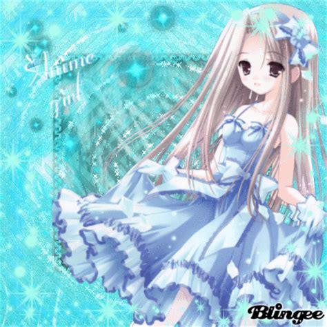 Anime Girllight Blue Picture #114383184 Blingeecom