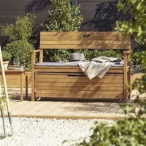 Banc De Jardin Castorama : banc de jardin denia avec dossier banc de jardin ~ Dailycaller-alerts.com Idées de Décoration