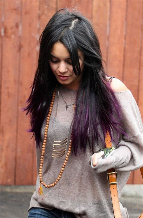 Information About Black Hair With Purple Highlights Underneath
