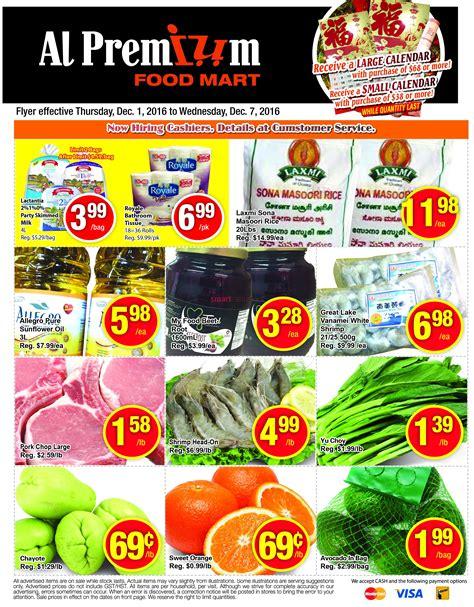 premium cuisine al premium food mart flyer december 1 to 7