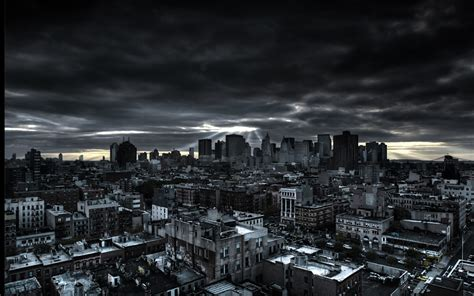 dark city background wallpapertag