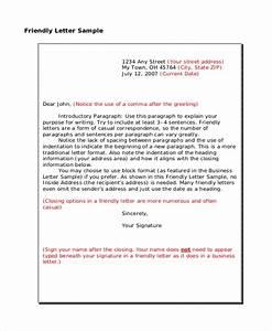 Free 7  Sample Formal Letter Format