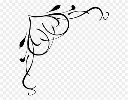 Border Clipart Heart Clip Shower Bridal Swirl