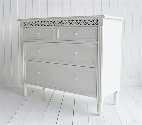 Chest Of Drawers Bathroom by New White Chest Of Drawers The White Lighthouse