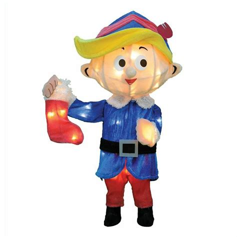 Rudolph Outdoor Decorations - rudolph misfit quot hermey quot lighted 3d lighted