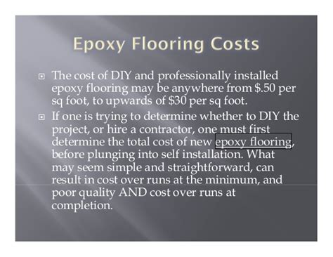 epoxy flooring vs tiles cost epoxy flooring cost calculator