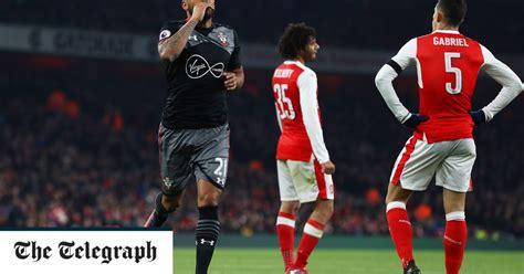 Arsenal 0 Southampton 2: Jordy Clasie and Ryan Bertrand ...