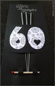 Cadeau Homme 60 Ans : carte d 39 anniversaire 60 ans diy pinterest anniversaires cartes et carte anniversaire ~ Teatrodelosmanantiales.com Idées de Décoration