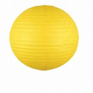 Boule Papier Luminaire : luminaire boule papier couleur jaune 50 cm skylantern fr ~ Teatrodelosmanantiales.com Idées de Décoration