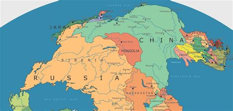 Incredible map of Pangea with modern-day borders ...