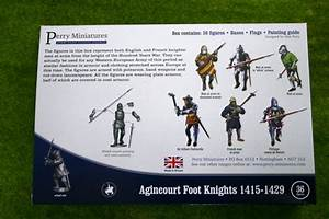 Perry Miniatures Agincourt Foot Knights 1415