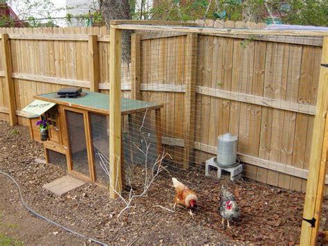 Backyard Runs by Chicken Coops For Backyard Flocks Hgtv