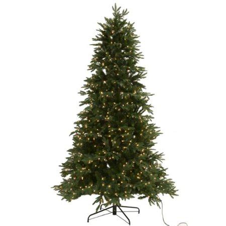 regency christmas trees jackson fir regency 7 5 american fir pre lit realistic artificial tree walmart