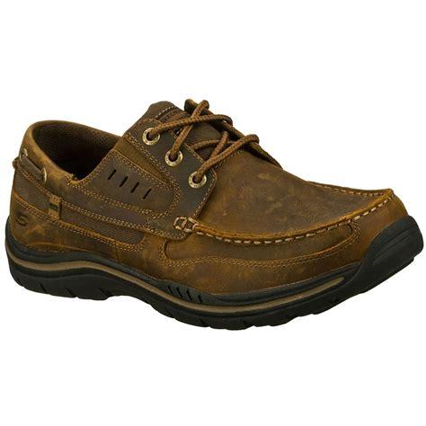 skechers boat shoes mens skechers s gembel boat shoes