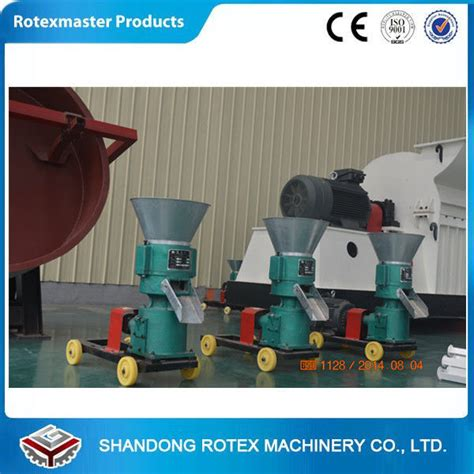 animal feed electric small pellet mill for chicken hay pellet feed mill