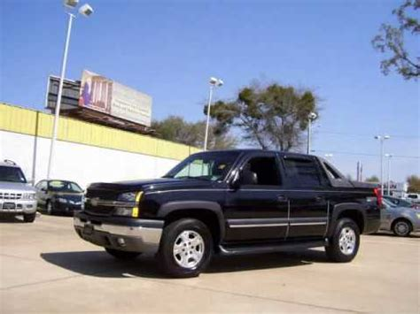 One Owner 2003 Chevy Avalanche Z66 With Leather & Sunroof