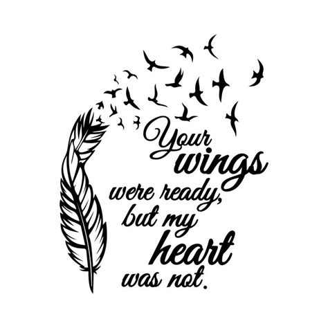 wings  ready svg    images  phrase quote sign  pinterest