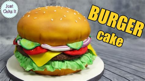 how to make hamburgers how to make a hamburger cake easy way it s all cake inside youtube